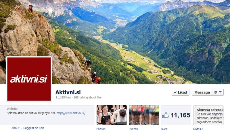 aktivni.si Facebook