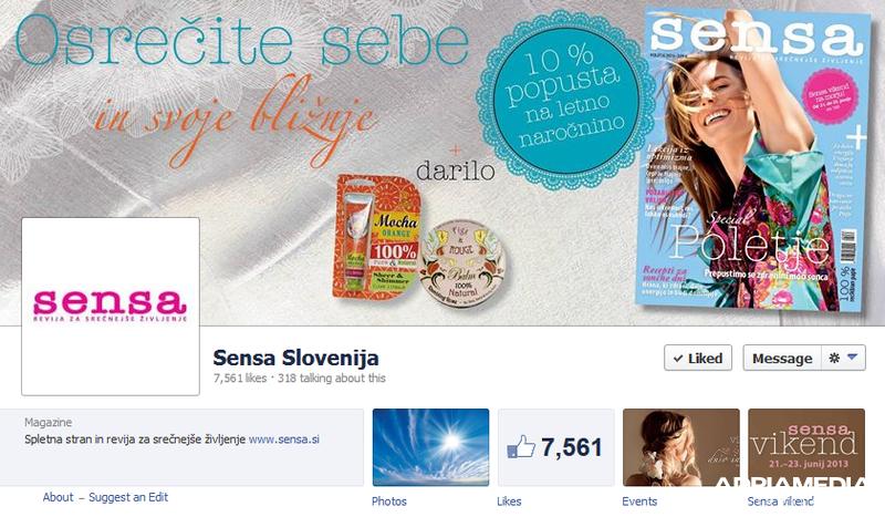 sensa facebook