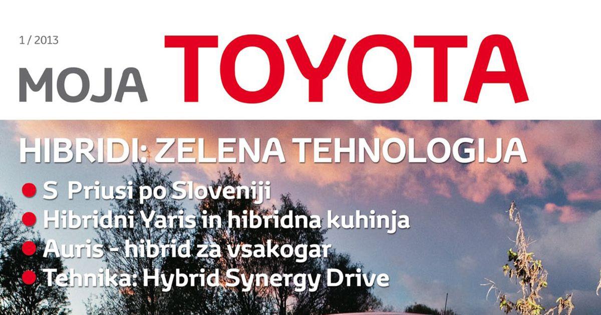 Revija Moja Toyota