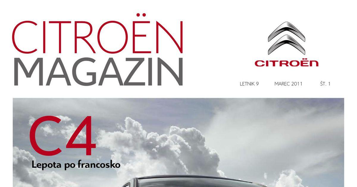 Revija Citroën magazin