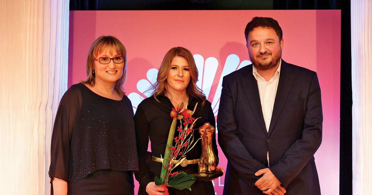 Slovenka leta 2018 po izboru revije Jana je Urša Zgojznik