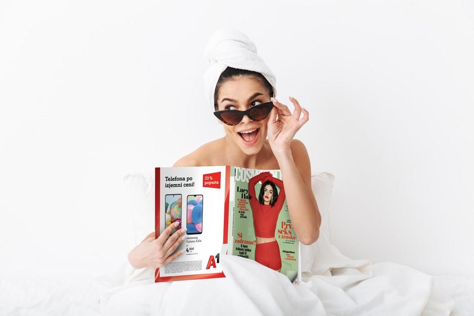 Aktualne številke vaših najljubših revij si lahko naročite na dom - poštnino za vas plačamo mi! (foto: Shutterstock)