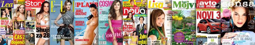 adria media ljubljana magazines