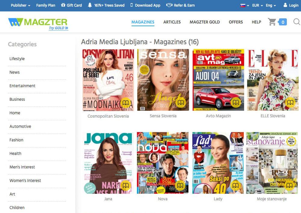 Magzter newsstand